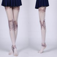 Wholesale Joint Tight - Wholesale- VOT7 vestitiy 1PC Women Jointed Doll BJD Tights Pantyhose Lolita Cosplay Joint Aug 17