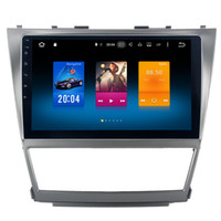 "Wholesale Toyota Gps Radio System - 10.2"" Octa Core Android 6.0 System Car DVD Radio For Toyota Camry 2007-2011 GPS Navi Stereo BT4.0 RDS WIFI 4G OBD DVR Wheel Control 2G RAM"