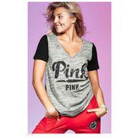Wholesale Teen Wholesale Shirts - New VS Secret Love Pink Women T Shirt printing kawaii Tumblr Instagram Harajuku Punk Teen Girls Tops Tee Clothing Femme Mujer Damen v neck