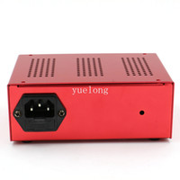Wholesale Dual Output Tattoo Power Supply - Wholesale-1pcs professional Dual Output Compact Tattoo Power Supply red Motor Power Tattoo for Tattoo Machine Free Shipping TP-125