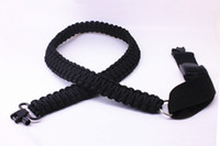 Wholesale Adjustable Paracord Rifle Sling - Brand new Adjustable Paracord Tactical 550 Rifle Sling Strap with Swivels