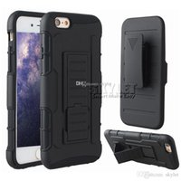 Wholesale Impact Pro - For Galaxy S7 iPhone 6 Hybrid Robot Case Armor Impact Case For Zmax Pro Z981 Coolpad With Belt Clip Holster Kickstand Combo Case OPP Package