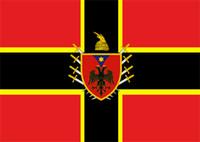Wholesale Fly Banners - Alternate Flag of Albania Flag 3ft x 5ft Polyester Banner Flying 150* 90cm Custom flag outdoor