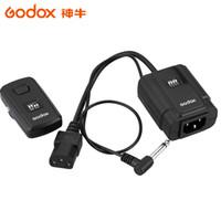 fernkamera-sender großhandel-Großhandel-Godox DM-16 Studio Wireless Remote-Blitzauslöser 16-Kanal-Auslöser Sender Empfänger für Kameras