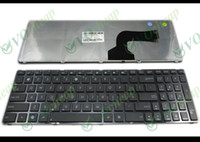 Wholesale X61 Keyboard - New Laptop keyboard For Asus G60 K52 U50 UX50 X61 G60J G60V G60JX G60VX Black with Frame US Version - V111462AS1