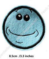 Wholesale Anime Cosplay Characters - Rick and morty character Embroidered Patches TV Series Movie Anime Iron On badge Movie halloween cosplay costume clothing party favor