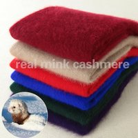 Wholesale Mink Fashion Clothing - Wholesale- Women Sweater 2016 New Fashion Real Mink Cashmere Top Level Sweater 21 Colors O-neck Warm Clothing Autumn Winter Sweater