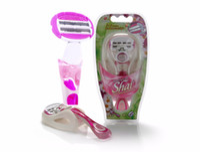 Wholesale Shaving Hair Removal Razors Blades - 3+3 with Bendable Cartridge Safety Shaving Razor Blades Set For Female Razor (1 holder+ 2 cartridges) Hair Removal Girl Razor