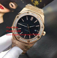 Wholesale Diamond Offshore - Mens Limited Edition Fashion Automatic Movement Mechanical diamond Dial Stainless Steel Offshore Rose gold Mens Watches