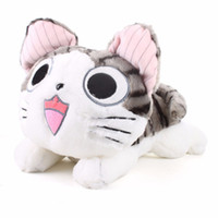 Wholesale White Cat Stuffed Animal - 20cm Kawaii Chi Cat Plush Toys Cute Chi Cat Stuffed and Soft Animal Dolls Stuffed Plush Animals Toy Birthday Gift for Kids