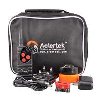 Wholesale Aetertek Dog Training Collars - Aetertek Dog Training Shock Collar No Bark Hunting Trainer Rechargeable Waterproof with beep vibrate 600 yards remote range