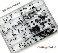 Wholesale Tools For Ring Sizing - Wholesale-10 Size Rubber Watch O-Ring GASKET set for Watch Crown Parts of Waterproof Watches Watchmaker's Repair Set Tool Kit Herramientas