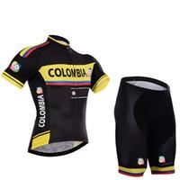 Wholesale Mountain Tours - 2017 Tour de France colombia Cycling clothing  Mountain cycling clothing Jersey bib shorts Maillot Ciclismo Ropa Ciclismo Cycling Jersey