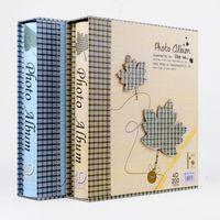 Wholesale Scrapbook Paper Baby - 4D Plus 6' 200 PCS Photo Album Scrapbook Paper Baby Cartoon Family Memory Loose-leaf Albums Wedding Foto Album Scrapbooks 2017