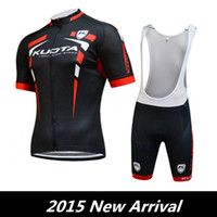 Wholesale Men Cycling Jersey Kuota - Maillot ciclismo 2015 Kuota Cycling Jersey Short Sleeve Cycling Jerseys Set Mountain Bike Jerseys Top Quality Bicycle Team Ropa ciclismo