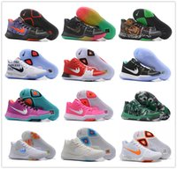 Wholesale Kids Snow Boots Free Shipping - Hot Sale 2017 Kyrie Irving 3 Basketball Shoes High Quality Kyrie Irving 3 Men Women Kids Sports Training Sneakers Size: 36-46 Free Shipping