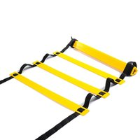 Wholesale Wholesale Soccer Training Agility - Outdoor Sports New Durable 6 Rung Agility Ladder for Football Soccer Speed Training Equipment 3 Meters 2507018