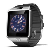u8 smartwatch sim оптовых-DZ09 Smart Watch GT08 U8 A1 смарт-часы SmartWatch iWatch поддержка SIM-карты TF смарт-наручные часы с силиконовым ремешком смартфон