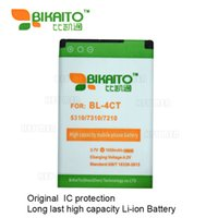 Wholesale Bl 4ct Battery - BL-4CT Mobile Phone 1050mah 3.7V Battery For Nokia 5310 7310 7210