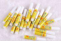 Wholesale Nail Glue 2g - gel 50 X 2g Gel Mini ProfessionaL Beauty Nail False Art Decorate Tips Acrylic Glue