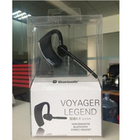 Wholesale Voyager Wireless - V8 Voyager Bluetooth Headset Handfree Bluetooth V4.0 Earhook Voice Control HeadPhone for Iphone 7 Samsung S7 Legend Wirless Earphone