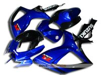 Wholesale Gsx Light - New High quality injection mold ABS Fairings kit 100% fit For SUZUKI 2006 2007 GSX-R600 GSXR750 06 07 GSXR 600 750 K6 blue black light color