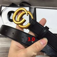 Wholesale Belt Buckle Chain - Fashion double G chain buckle men belts high quality imported real leather toad pattern design designer belt brand waistbands with