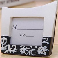 Wholesale photo gifts wedding free shipping for sale - Damask Design Mini Photo Frames Place Card Holders Party Favors Table Decoration Gifts Wedding Favor ZA3811
