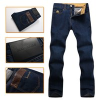 Wholesale Billionaire Italian Couture - Wholesale- Billionaire Italian Couture jean men's 2016 launching autumn and winter casual comfort embroidered clothing free shipping
