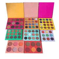 Wholesale Purple Highlights - STOCK 12 Color Fashion Women Place Yellow PURPLE WHITE RED Eye Shadow Highlight Palette Makeup Matte Nake Eyeshadow free shipping