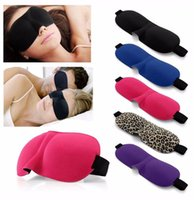 3D Sleep Mask Natural Sleeping Eye Mask Eyeshade Cover Shade Eye Patch Women Men Мягкая переносная завязка с капюшоном