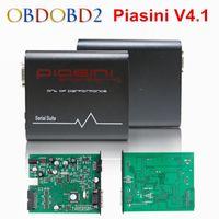 Wholesale Best Ecu Flasher - Wholesale- Best Piasini Engineering Master V4.1 CAN-BUS Read Write ECU Porgrammer PIASINI 4.1 Serial Suite Full Set ECU Flasher Tool