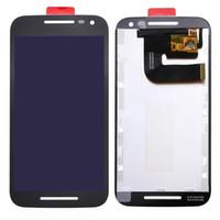 nuevo oem digitalizador de pantalla táctil al por mayor-Reemplazos del ensamblaje de la pantalla del digitizador + Touch de la nueva pantalla LCD del OEM para Motorola MOTO G3