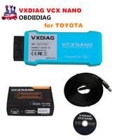 Wholesale Sae J2534 - VXDIAG VCX NANO for TOYOTA TIS Techstream V12.00.127 Compatible with SAE J2534 WIFI or USB Version