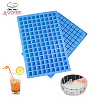 Wholesale ice cube trays shapes for sale - Group buy 5PCS Cavity Square Shape Silicone Mold Ice Cube Tray Mini Ice Cubes Small Square Mold Ice Maker For Kitchen Bar Party Drinks