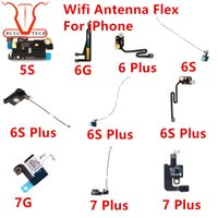 Wholesale Antenna For Gps - For iphone 5S 6g 6 plus 6s 6S PLUS 7g 7 Plus Wifi Wireless Antenna Signal Mainboard Bluetooth GPS Cover Long antena Replacement