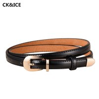Vente en gros- New 2017 Mode Femmes Ceintures Vintage Strap Double Metal Casual Pin Buckle Ceinture Jeans Jeans Design Faux Leather Belt For Woman