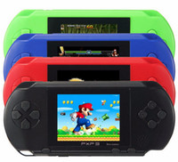 Wholesale Digital Consoles - Portable PXP3 16 bit 2.7 inch Game Player Digital Pocket Video Game Console System TV Out Games Built-in Game Card
