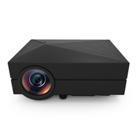 Wholesale Cheap Lcd Tvs - Wholesale-GM60 cheap digital projector home cinema 5.1 120 inches contrast ratio 1000:1 1000 lumens china lcd tv
