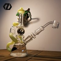 Wholesale Smoking Pipe Glass Ball - 2016 New arrival glass water pipes with removeable downstem 14mm female joint glass bong with rotatable ball smoking pipe