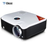 Wholesale Dvd Home Cinema - Wholesale- Excelvan PH5 Projector 2500 Lumens Multimedia Projector Home Cinema AV TV VGA HDMI for DVD PC Tablet Support 1080P Proyector