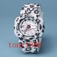 AAA de calidad superior de lujo BABY Women reloj deportivo LED relojes Relojes impermeables G mujer relojes con caja