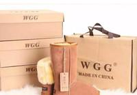 frauen s hohe stiefel großhandel-Heißer verkauf 2018 Hohe Qualität WGG Australien frauen Klassische hohe Stiefel Frauen stiefel Stiefel Schnee Winter leder stiefel UNS GRÖßE 5 --- 13