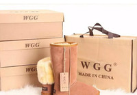 Wholesale Australia Plains - Hot sell 2018 High Quality WGG Australia Women's Classic tall Boots Womens boots Boot Snow Winter leather boots US SIZE 5---13