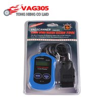 Wholesale vag diagnostic scanner - Wholesale- Factory Price Car Diagnostic Tool OBD 2 OBD II VAG305 CAN VAG Scanner & Code Reader for V-W A-udi VAG 305