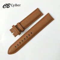 Wholesale wholesale seiko - Cbcyber New Watch Accessories Belt Soft Genuine Leather Watch Band Watch Strap 18 20 22 24 mm Watchbands