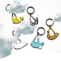 Wholesale Kidnapping zoo series key chain Key chain with a key ring to choose