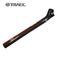 Wholesale Drift Bike - TMAEX- Carbon Seat Post 27.2 30.8 31.6*350 400mm Carbon Bicycle Parts Mtb Bike Seat Post Road Backward Drift Carbon Seat Post