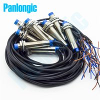 Wholesale Proximity Sensor Switches - 10PCS New PanlongIC LJ12A3-4-Z BY Inductive Proximity Sensor Switch PNP DC6-36V NO Normally Open High Quality Free Shipping