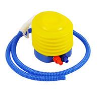 inflador de juguete al por mayor-Bomba de globo Inflador Bola de yoga Bomba de aire Fiesta Juguete Anillo de natación Colchón Bomba de juguete inflable